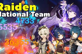 """Điều gì đã khiến team """"Lôi Thần Quốc Dân"""" trở thành đội hình bá đạo bậc nhất Genshin Impact hiện tại?"""