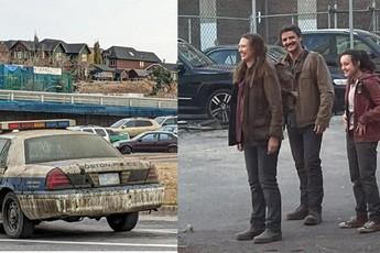 Những hình ảnh hậu trường của bộ phim The Last of Us do HBO sản xuất