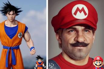 Giật mình với phiên bản đời thật của loạt nhân vật nổi tiếng trong game và phim hoạt hình, thấy rõ từng lỗ chân lông