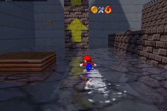 """""""Game 25 tuổi"""" Super Mario 64 bỗng hóa siêu phẩm long lanh với RTX 3090 và Ray Tracing"""