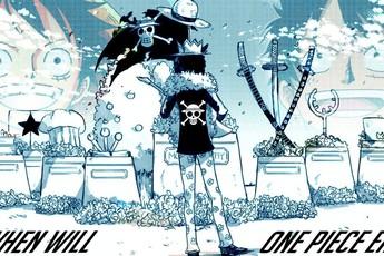 Đầu năm ôn lại chia sẻ của Oda, bộ truyện One Piece có thể sẽ kết thúc vào chap 1200?