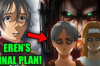Attack On Titan 138 bất ngờ tiết lộ hình dạng Titan cuối cùng của Eren