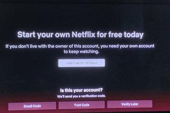 Netflix bắt đầu chặn người dùng chia sẻ tài khoản