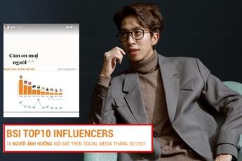 """Drama """"khẩu chiến"""" với Bình Gold giúp ViruSs lọt top người có ảnh hưởng nhất mạng xã hội tháng 2/2021?"""