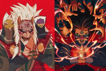 """Naruto: Giật mình khi thấy các nhẫn giả """"bật mode"""" theo phong cách Huyết Nguyệt trong LMHT"""