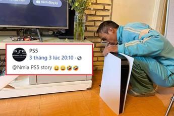 """Nghe báo chí và MXH nước ngoài nói về màn hóa thân PS5 thành Router Wifi """"Plash Speed 5"""" của game thủ Việt"""
