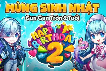 Gun Gun Mobile mừng sinh nhật 2 tuổi, tặng ngay loạt Giftcode VIP cho anh em game thủ chung vui!