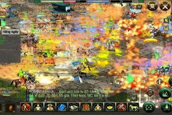 Không thể tin đây là hình ảnh Công Thành Chiến trên tựa game được xem là tái hiện chuẩn chất VLTK trên di động