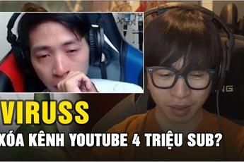 Channel YouTube mới tăng sub chóng mặt, ViruSs bình luận, phản ứng cực gay gắt với CĐM khi bị nói chiêu trò