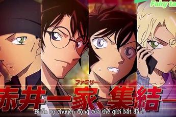 Các lý do cho thấy Thám Tử Lừng Danh Conan: Viên Đạn Đỏ chính là siêu phẩm hoành tráng nhất trong cả series
