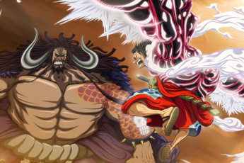 """Màn Haki bá vương đối chiến giữa Luffy và Kaido khiến nhiều fan tiếc vì nó không được """"Livestream"""" như trận Marineford"""
