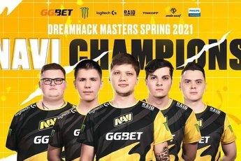 CS:GO - Hủy diệt Gambit Esports, Na`vi lên ngôi vô địch DreamHack Masters Spring 2021