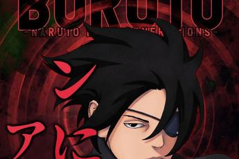 """Ảnh bìa Boruto chap 58 xuất hiện Sasuke """"chột mắt"""", các fan cho rằng quay lại làm gì khi chỉ """"còn cái nịt"""" mắt"""