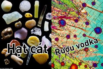 Những đồ vật được phóng đại qua kính hiển vi trông như thế nào?