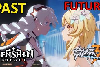 Honkai Impact 3 và Genshin Impact quyết định hợp tác, một pha kết hợp tạo nên vũ trụ của miHoYo?