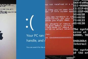 """Không chỉ có màn hình xanh là """"chết chóc"""", sau đây là 8 màn hình màu khác cũng khiến người dùng lo sốt vó"""