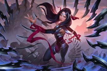 """Irelia chính thức cập bến Huyền Thoại Runeterra với khả năng """"tấn công liên tục""""!"""