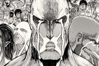 Attack on Titan cảm ơn fan đã đồng hành cùng bộ truyện suốt 12 năm bằng 1 bức tranh tường siêu to khổng lồ