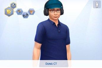 Dũng CT và Team Đụt bất ngờ được Fan tái tạo lại trong The Sims 4
