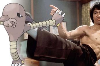 Những Pokémon được thiết kế dựa trên nhân vật có thật