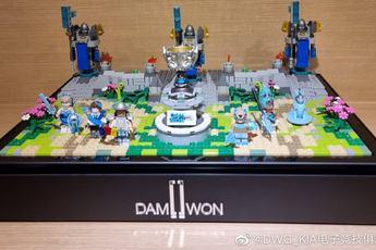 """DWG KIA nhận được món quà vinh danh vô địch CKTG siêu cấp """"đáng yêu"""" từ Riot Hàn"""