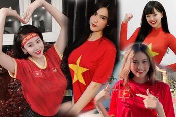 """Tuyển nhà chính thức đoạt vé dự vòng loại thứ 3 World Cup 2022, loạt hot girl làng game có hành động """"ăn mừng"""" độc đáo"""