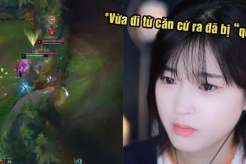 """Bị """"đá stream"""" liên tục, nữ streamer LMHT hàng đầu xứ Hàn """"ăn hành"""" tới nỗi phát khóc trên sóng"""