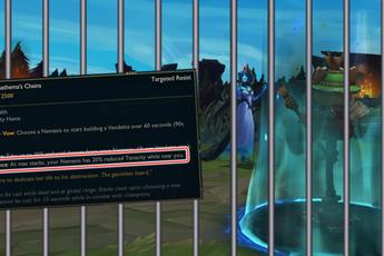"""Morgana có thể đạt đến trạng thái """"trói chân vĩnh viễn"""" với trang bị chống chịu mới của LMHT"""
