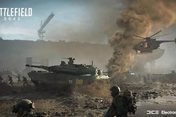 Chiêm ngưỡng chiến trường rực lửa trong gameplay của bom tấn Battlefield 2042