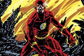 The Flash từng hy sinh để cứu đa vũ trụ DC bằng cách chạy nhanh đến nỗi tự phân hủy bản thân