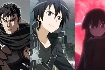 6 hắc kiếm sĩ mạnh nhất trong anime, Guts trong Berserk vẫn là tượng đài khó bị xô đổ