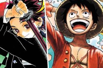 """Top 10 manga bán chạy nhất mọi thời đại, bất ngờ khi nhiều cái tên """"lão làng"""" đã bị """"tân binh"""" Kimetsu No Yaiba vượt mặt"""