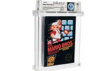Băng điện tử Super Mario 64 nguyên seal được bán với giá kỷ lục 1,5 triệu USD