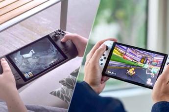 So sánh Steam Deck với Nintendo Switch và các thiết bị chơi game cầm tay