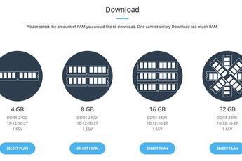 """Hãng smartphone đầu tiên cho phép người dùng """"download thêm RAM"""""""