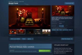 Tựa game kinh dị Việt - Cỏ Máu chính thức đặt chân lên Steam