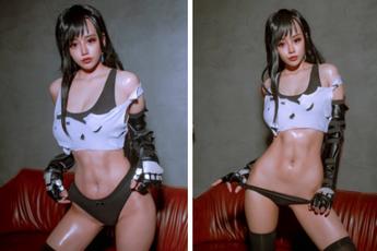Nóng mắt ngắm loạt ảnh cosplay nàng Tifa trong Final Fantasy với thần thái đầy mời gọi