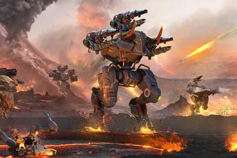 """Bắn phá, nã đạn """"thả ga"""" trong đại chiến War Robots, miễn phí 100%"""