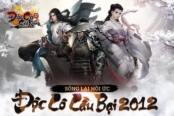 Đúng 9h30 ngày 20/9, game PC Độc Cô Cầu Bại 2012 chính thức khai mở máy chủ Hoa Sơn
