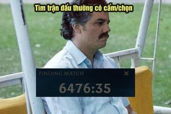 Game thủ LMHT phát hiện ra được thời gian tìm trận lâu nhất có thể là 6476 phút 35 giây