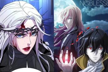 Noblesse và loạt truyện Webtoon xuất sắc nhất về ma cà rồng