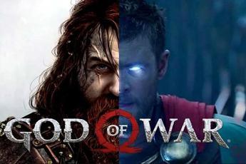 So sánh thần sấm Thor trong phim Marvel và God of War Ragnarok