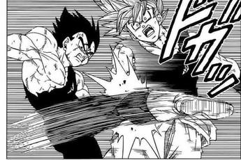 Dragon Ball Super 76: Fan tranh cãi vì Vegeta tấn công Goku, lòng tốt của anh Khỉ có đáng bị như vậy?