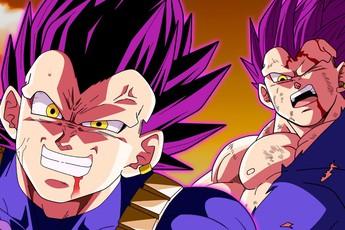 """Top 5 hình ảnh ấn tượng trong Dragon Ball Super chap 76: Niềm kiêu hãnh của hoàng tử Saiyan, Vegeta muốn """"đồng quy vu tận"""" với kẻ thù"""