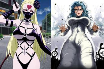 Những nữ ác nhân có tạo hình đẹp lung linh không thua nữ chính trong One Punch Man