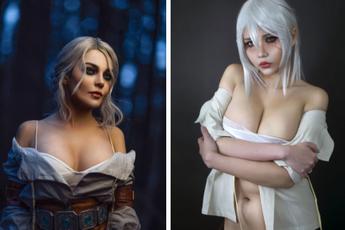 The Witcher: Ngắm cosplay Ciri chân dài gợi cảm và quyến rũ, Tây với Ta bạn thích vẻ đẹp nào hơn?