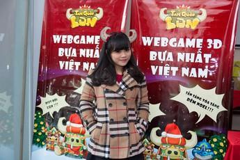 Game thủ Tam Quốc Lùn tại Hà Nội bất chấp thời tiết đến tham dự Offline
