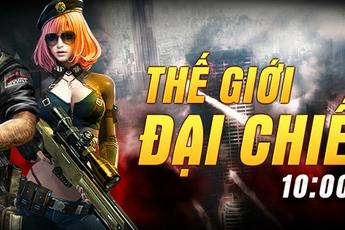 Webgame Thế Giới Đại Chiến tặng 500 Giftcode trên SohaPlay nhân dịp Big Update