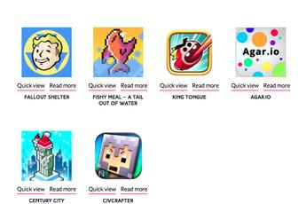 """Game Việt """"lạ hoắc"""" xuất hiện trong bảng đề cử game mobile quốc tế"""