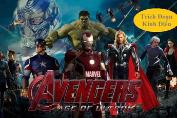 Tổng hợp lại tất cả những cảnh hành động hấp dẫn nhất trong bom tấn Avengers 2